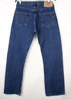 LEVI'S STRAUSS & CO Men 501 Straight Leg Jeans Size W33 L32 ATZ726