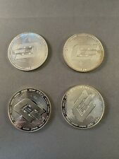 Lot of 4 Dash Challenge Coins