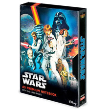 Star Wars a Hope VHS Style A5 Premium Notebook