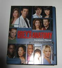 Grey's Anatomy - The Complete Third Season (DVD, 2007, 7-Disc Set, Seriously...