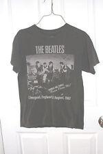 The Beatles T-Shirt Grey Small 100% Cotton Short Sleeve