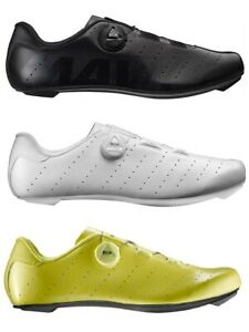 Mavic Cosmic Boa Men's Road Cycling Shoe - Black, Yellow, White READ DESCRIPTION
