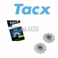 Tacx Jockey Wheels Ceramic 10 Teeth 8/9/10 Speed Stainless Steel Bearing Pulley