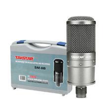 Recording Karaoke Wired Condenser Microphone Audio Studio Tripod PC Cellphone