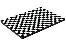 Diorama base Damiers noirs/Black checkerboard - 3inch   1/64ème - #3in-1-AH-001