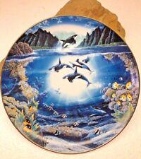 1991 The Danbury Mint Underwater Paradise Sunlit Glow by Robert Lyn Nelson