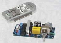 TA2020 20W+20W class T amplifier w/integrated remote volume control assembled !