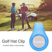 Multifunctional Golf Cap Clip Hat Clamp Magnetic Golf Ball Marker Outdoor Sports