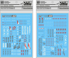 D.L high quality Decal water paste For Bandai PG Strike + Sky Grasper Gundam