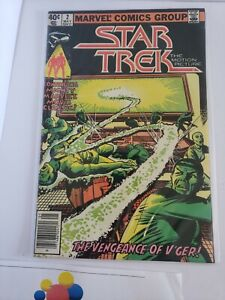 Star Trek # 2 (Marvel)1980  -- Vengeance of V'ger -- FN/VF