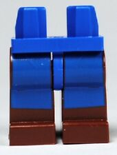 LEGO - Minifig, Blue Hips and Reddish Brown Legs with Avatar Blue Rectangles