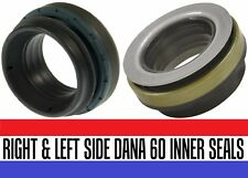 Set of 2 FORD F350  F250 DANA 50 & 60 FRONT AXLE INNER TUBE OIL SEALS