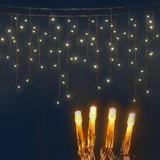 Jingle Jollys 500 Icicle Lights - Warm White