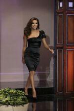 KAREN MILLEN Beaded NWT Eva One Shoulder Dress US 4 UK 8 EU 36 Black