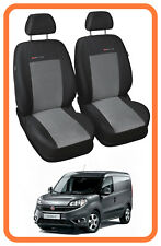 Fully tailored Van seat covers for Fiat Doblo Cargo 2009 - on  1+1 - (P2)