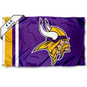Minnesota Vikings Big 4x6 Foot Flag