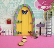 fairy door, fairy dust, fence, post box ladder,can personalise,