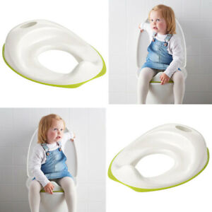 Ikea TOSSIG Children Toilet Seat Bathroom Accessory Organiser White/Green