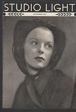 Studio Light Magazine Photography Eastman Kodak October 1937 Woman
