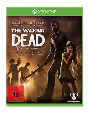 The Walking Dead Game of the Year + Addon 400 Days nuevo + en lámina Xbox One