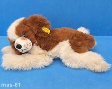 STEIFF HUND BERNHARDINER 0342/40 SUPER MOLLY STOFFTIER DOG 40 CM