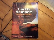 Never Used Earth Science Work-Text by Constantine Constant Homeschool