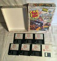 "1993 LUCAS ARTS PC Sam & Max Hit The Road Big Box Game IBM 3.5"" Floppy Disc"