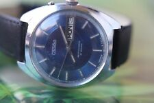MEN'S VINTAGE VERY BIG USSR SLAVA 27 JEWELS; DOUBLE CALENDAR