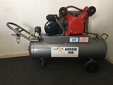 Air Compressor Australian Made 58L 12.5CFM Cast Iron Pump 240V Single Ph 2.5HP