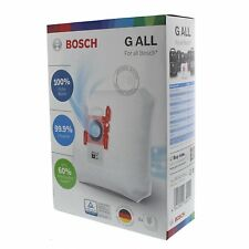 Genuine Bosch Type G Vacuum Bags Pack Of 4
