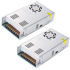 2x Switch Power Supply Driver Ac 110220v To Dc12v 40a 480w For Led Strip Light