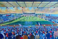 Starks Park Stadium Fine Art A4 Print - Raith Rovers Football Club