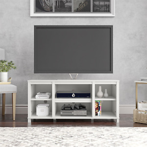 """Mainstays Parsons Cubby TV Stand for TVs up to 50"""","""
