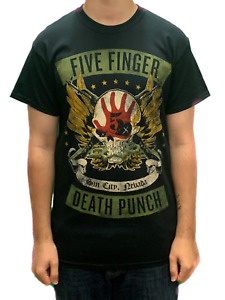 Five Finger Death Punch Locked Loaded Unisex Official T Shirt Brand New Various