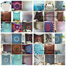 20 PC Wholesale Lot Hand Block Print Bed Sheet, Bed Spread, Tapestry Indian