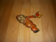 Vintage Mars Toys Japan Tumbling Tin Litho Trick Monkey Wide Up Toy