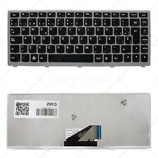 Nuevo Teclado Español para portátil Ultrabook Lenovo IdeaPad U310 Marco Plata