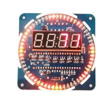 DS1302 Assembled Rotating LED Electronic Temperature Display Board Digital Clock