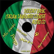 HOLIDAY Basics LINGUA ITALIANA corso semplice ascolto ripetere & Apprendi CD AUDIO NUOVO