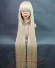 "Chibits Chii 120cm/47"" Light Blond Long Straight Cosplay Wig Flat Bangs"