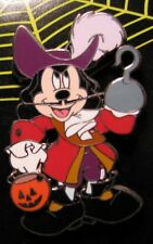 Disney Halloween 2006 Pirate Mickey Mouse as Captain Hook Pin NEW