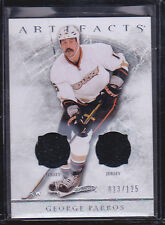 2012-13 Artifacts Jerseys #29 George Parros 013/125