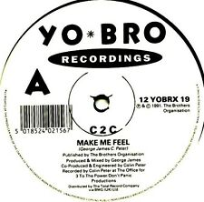 "12"" - C2C - Make Me Feel (EURO HOUSE) NUEVO, NEW STORE STOCK"