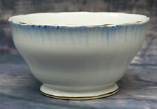 Vintage Bone China Royal Standard Sugar Bowl - Blue & White