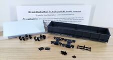 HO Scale 3D Printed Utah Coal Route (UCR) GS Gondola Double Kit (Wire Grabs)