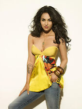 Megan Fox 8X10 sexy colorful outfit