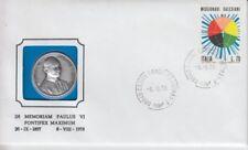 D.Numisbrief Italy Vatican Pope Paul VI 1978