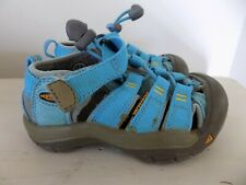 Keen Waterproof Shoes Water Sandals Blue Teal Baby Girl Size 8