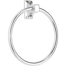 Croydex Sutton anello per asciugamani Detentore Cromato Wall Mounted EASY FIT CON FISSAGGIO