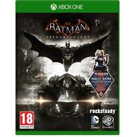 Batman Arkham Knight + Harley Quinn DLC for XBox One Brand NEW & Sealed UK PAL